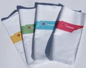 I Love Tennessee  Napkins in Pop Color- Set of FOUR