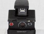 Polaroid SX-70 Model 3 - Black Lizard Embossl Cowhide