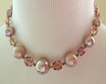 Vintage Lavender Necklace