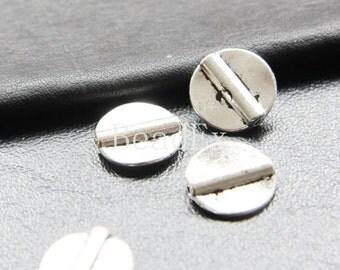 20pcs / Round / Spacer / Oxidized Silver / Base Metal / 14mm (XA276//A50)