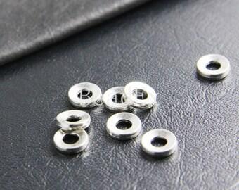 40pcs / Spacer / Oxidized Silver / Base Metal / 9mm (XA2794//B130)