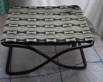 Mid Century Fold Up Stool