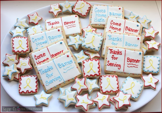 Postcard/Stamp Sugar Cookies