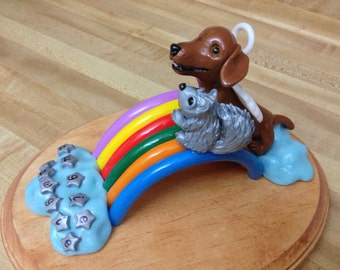 Rainbow Bridge Custom Sculpture or Cake Topper