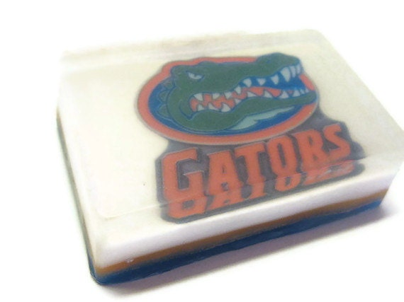 Sport Soap, teams, college mascots, professional sport team logos, Father's Day gift idea