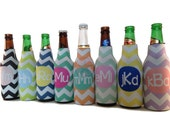 PERSONALIZED WEDDING FAVORS-Bridesmaids Gift-Wedding Gifts- Beer Bottle Insulators- Great Gifts for the Wedding Party-Great Christmas Gifts