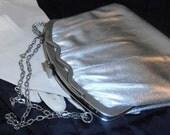 Vintage Silver Harry Levine Evening Bag