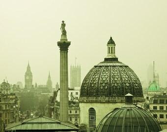 London Photography - Rooftops of London - London fine art photography - 8x10