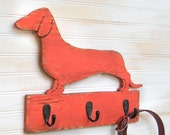 Dachshund Leash Hook Holder Dog Collar Leash Hook