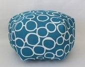 """24"""" Ottoman Pouf Floor Pillow Freehand Aquarius"""