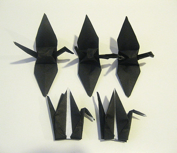black origami paper Buy black colored paper in packs or in bulk at the paper mill store save money with rewards & discounts with free shipping available.