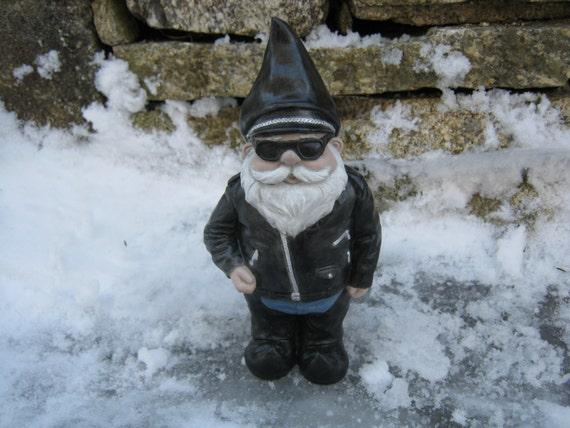 Garden Gnome Biker Gardenxcyyxhcom