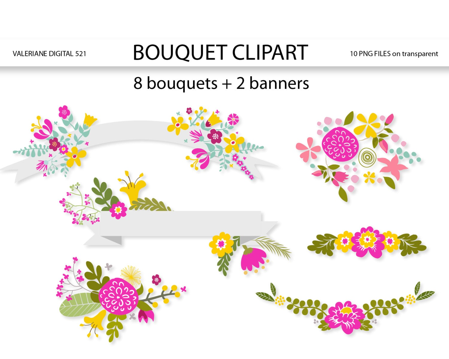 clipart floral banner - photo #14