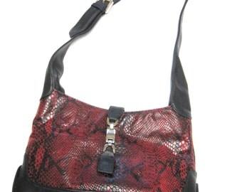 Black Red Purse Giani Bernini Handbag