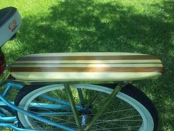 Items Similar To Surfboard Bike Rack With Retro Rear Rack