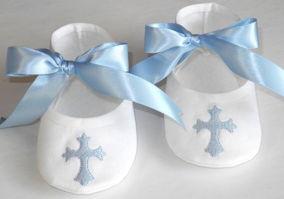 Baby Boy Shoes Boy Christening Shoes Christening Booties