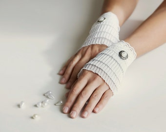 White cuffs, lace bracelets, cuffs bracelet, wedding cugffs