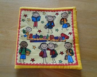School Days Fabric Book