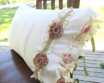 Popular items for SHABBY CHIC PILLOW on Etsy