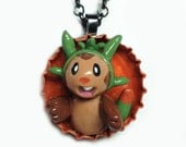 Pokemon Chespin Necklace