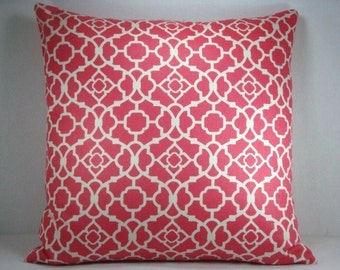 Waverly Lovely Lattice Pillow Designer Accent Pillow 18X18 Pillow Cover