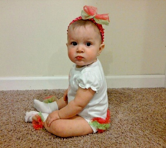 Personalized Baby Grirl Clothes Ruffle Butt One Piece By