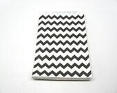 "Black and White Chevron Medium Paper Gift Bags, 5"" x 7.5"", Set of 10"