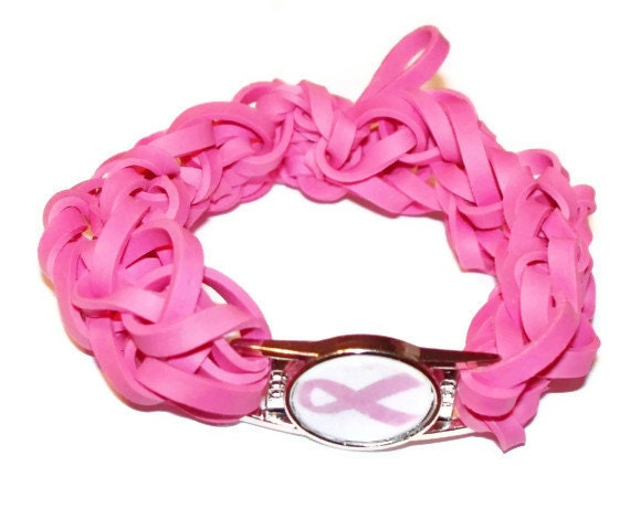 Band bracelet breast cancer