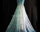 Maxi Prom Dress Bridesmaid Dress Wedding Plus Size Long Evening Blue Party Dreamy Collection