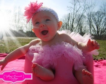 SALE Super Full Newborn 6 Months Premium Tutu Skirt Solid Color You Choose Color
