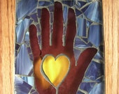Heart in Hand Mosaic