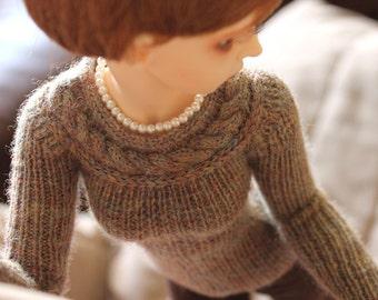 Minifee Knitting PATTERN for Lariat sweater