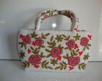 Vintage Purse, Beaded purse