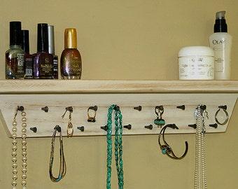 Jewelry Holder Shelf Organizer