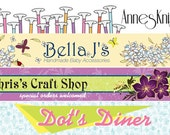 Custom Etsy Shop Banner and Avatar