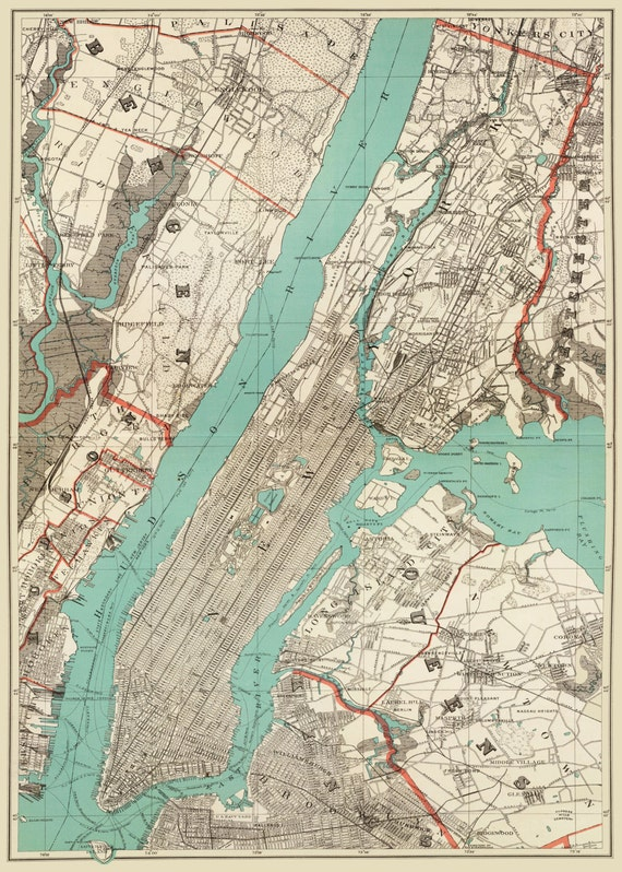 New york city map – Map of Newyork City