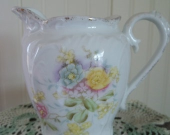 Spring Flowers Pitcher