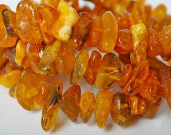 Antique genuine Baltic Amber necklace.