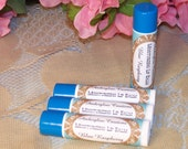 CLOSEOUT SALE Blue Raspberry Shea Butter LIp Balm With Vitamin E Preservative Free Dye Free