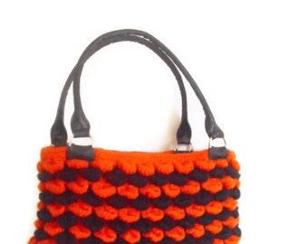 Crochet Halloween  Color Handbag