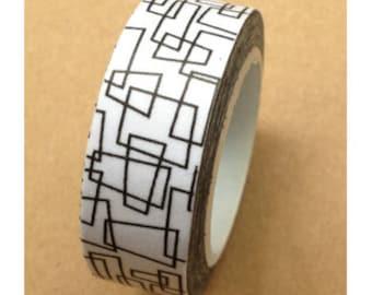 Pattern Washi Tape (10M)