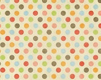 4ft x 3ft  VINYL Photography Backdrop Travel Floor - Vintage Colorful Dots