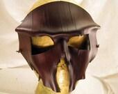 Tree Bark Leather Hunter Mask
