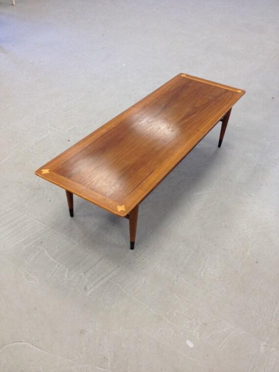 mid century modern lane coffee table. Black Bedroom Furniture Sets. Home Design Ideas