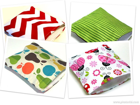 Reusable Sandwich Bags - Four (4) Bags at a Discounted Price