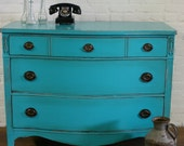 Painted Dresser French Provincial Furniture Cottage Chic CUSTOM ORDER SOLD