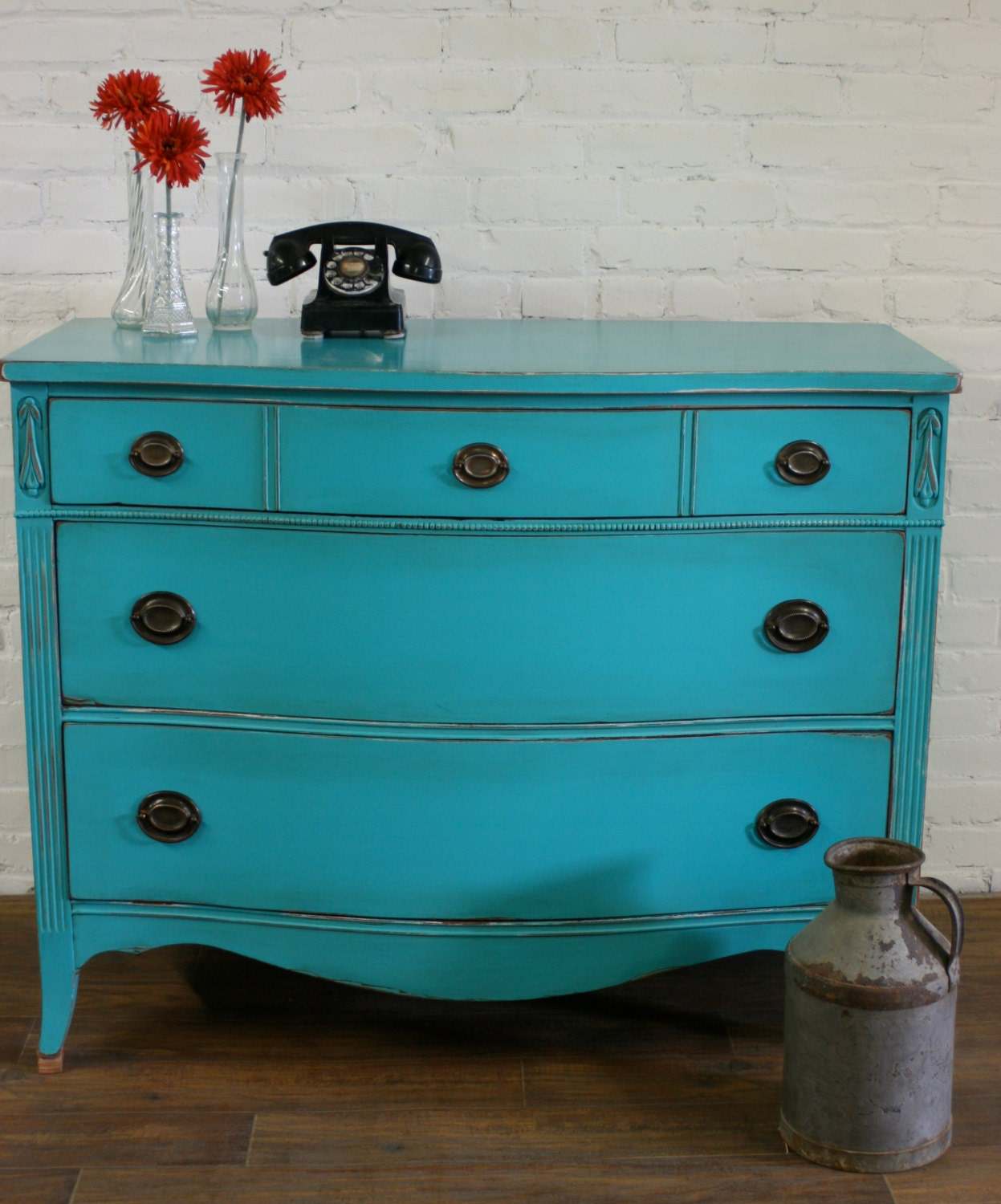 Painted Dresser French Provincial Furniture by Transformations2