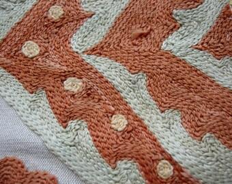 Uzbekistan  suzanni silk embroidered piece