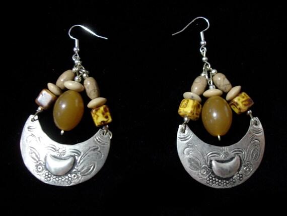 Brown  Moroccan  earrings