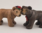 Bear Love Wedding Cake Topper